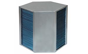 Hexagonal heat exchanger