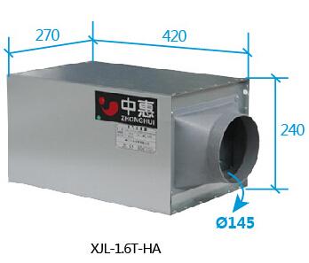 空气净化器尺寸